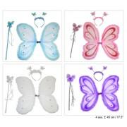 Set fluturas (aripi/bagheta/bentita) 45x45cm - 53132