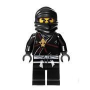 Cole (Black Ninja) - LEGO Ninjago Minifigure