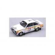 Trofeu TF10217 FORD ESCORT MK II N.7 MAROC'76 1:43 Modellino