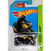 Hot Wheels, 2015 HW Workshop, BMW K 1300 R Motorcycle [Black] Die-Cast Vehicle #190/250 by Hot Wheels