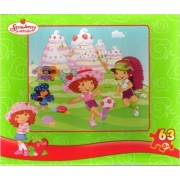 Strawberry Shortcake 63pc. Puzzle-Soccer Match by Mega Brands/RoseArt