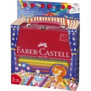 Set Cadou, 18 culori/set, Desen si Pictura Jumbo Grip Circus Faber-Castell