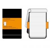 Moleskine - Linierter Notizblock Large, Hardcover, schwarz
