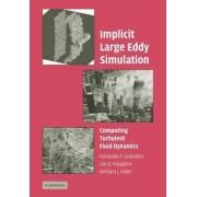 Implicit Large Eddy Simulation by Fernando F. Grinstein