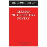 German 20th Century Poetry by Reinhold Grimm