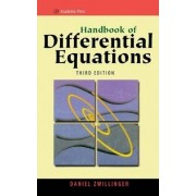 Handbook of Differential Equations by Daniel Zwillinger