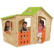 Magic Villa House gyerek játszóház beige-zöld KETER
