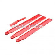 Generic red : Free Shipping WLtoys V931 Helicopter Parts Upgrade parts main blade + tail blades 4pcs/set