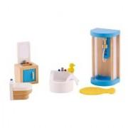 Hape-Wooden Family Bathroom