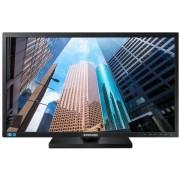 "Monitor TN LED Samsung 27"" LS27E45KBS/EN, Full HD (1920 x 1080), VGA, DVI, 5 ms, Pivot (Negru) + Lantisor placat cu aur cu pandantiv in forma de lup de mare"