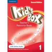 Kid's Box Level 1 Teacher's Resource Book with Online Audio by Caroline Nixon