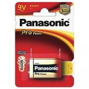Baterie Panasonic Pro Power Alkaline 6LR61/9V Blister 1 buc