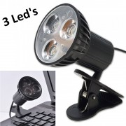Mini Luminária Led USB com Clipe para Notebook Pc Mac CBRN01835