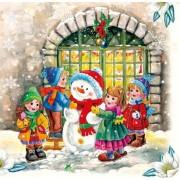 Ubrousky dětské vánoce