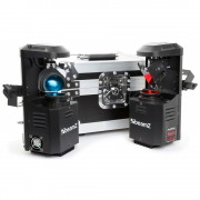BeamZ Pocketscan LED set scannerset in flightcase