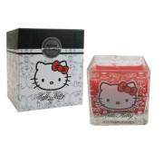 bougie hello kitty carrée parfumée dans boite cadeau