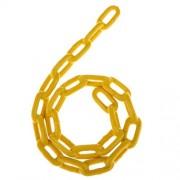 Segolike 1.8 M Length 500KG Capacity Durable Plastic Coated Iron Swing Chain for Kids Playground Garden Park Swings Fun Yellow