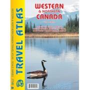 Wegenatlas - Atlas Travel Atlas Western & Northern Canada - West en Noord Canada | ITMB