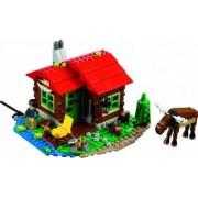 Set Constructie Lego Creator Casuta De Pe Malul Lacului