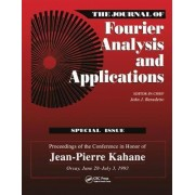Journal of Fourier Analysis and Applications Special Issue by John J. Benedetto