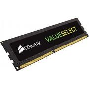 Corsair CMV2GX3M1C1600C11 Value Select Memoria per Desktop Mainstream da 2 GB (1x2 GB), DDR3L, Low Voltage, 1600 MHz, C11, Nero