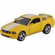 Baby Steps Kinsmart Die-Cast Metal 2006 Ford Mustang Gt Sports (Yellow)