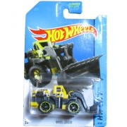 Hot Wheels HW City 2014 City Works - 8/250 - Wheel Loader (Yellow)