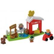 Fisher-Price - Little People - Granja con accesorios (animales y el tractor [Importado de Alemania] (Mattel)