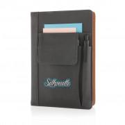 Notebook A5 cu buzunar pentru telefon mobil