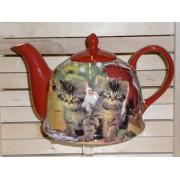 Ceainic Colectia Pisici Rosii
