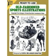 Ready-to-Use Old-Fashioned Sports Illustrations by Carol Belanger Grafton