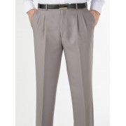 Robert Huntley Expandable Waist Trouser - Taupe 107S