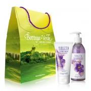 Set cadou - Crema de maini si sapun lichid cu parfum de violete