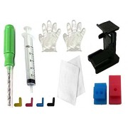 Gocolor Suction Tool Cleaning Kit For Black & Color Canon Cartridge With Instruction Manual ,Demo Video