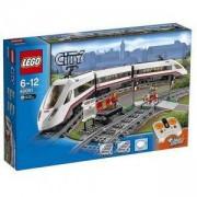 Конструктор ЛЕГО СИТИ - Високоскоростен пътнически влак, LEGO City, 60051