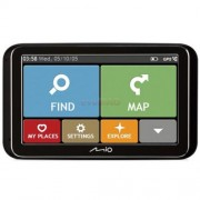 Navigator GPS 5'' Mio Spirit 6970 FEU LMU TMC harta full Europa + actualizari gratuite + informatii din trafic in timp real (Mio)