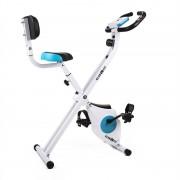 Klarfit Azura biciclete Trainer Heart Rate Monitor 100 kg pliabile