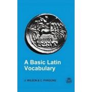 Basic Latin Vocabulary by Reverend Dr John Wilson