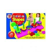 RASHMI TOYS EDUCATIONAL COLOURS AND SHAPE SET GEOMETRICAL SHAPES SETS (pack of 1)