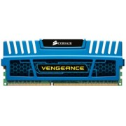 Memoria RAM Corsair Vengeance DDR3, 1600MHz, 4GB, CL9, Azul