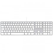Tastatura cu fir / Keyboard Apple USB cu taste numerice RO, mb110ro/b