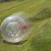 Thumbsup - 1022 - Jeu De Balle - Roller Ball Boule - Géante Gonflable