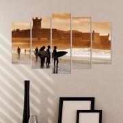 Декоративен панел за стена със сърфисти Vivid Home