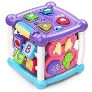 VTech Busy Learners Activity Cube - Purple - Online Exclusive