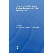 New Methods in Social Justice Research for the Twenty-First Century by Alphia Possamai-Inesedy