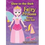 Glow-in-the-dark Fairy Princess Sticker Paper Doll by Diego Pereira