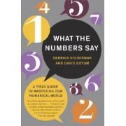 What the Numbers Say by Derrick Niederman