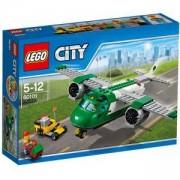 Конструктор ЛЕГО СИТИ - Товарен самолет, LEGO City, 60101