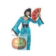 Costume Geisha Blue Shot