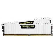 Corsair CMK32GX4M2B3000C15W Vengeance LPX Kit di Memoria RAM da 32 GB, 2x16 GB, DDR4, 3000 MHz, CL15, Bianco
